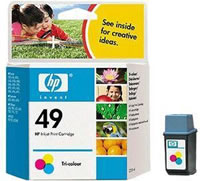 HP 49 colour ink cartridge