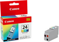 Canon BCI-24C colour ink cartridge