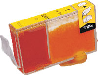 Canon compatible BCI-3eY yellow ink cartridge