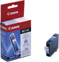 Canon BCI-6C cyan ink cartridge