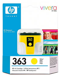 HP 363 yellow ink cartridge
