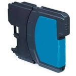 Brother compatible LC1100C cyan ink cartridge