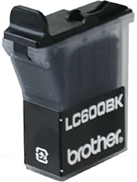 Brother LC600BK black ink cartridge