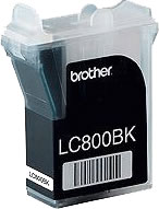 Brother LC800BK black ink cartridge