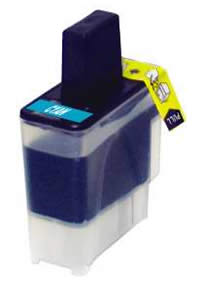Brother compatible LC900C cyan ink cartridge