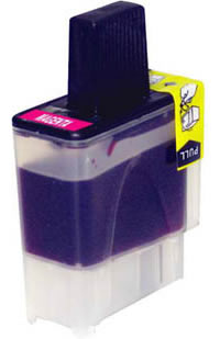 Brother compatible LC900M magenta ink cartridge
