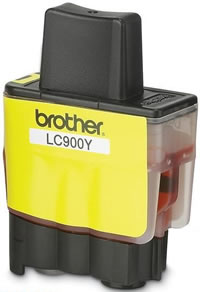 Brother LC900Y yellow ink cartridge