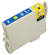 Epson compatible T0484 yellow ink cartridge