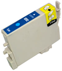 Epson compatible T0612 cyan ink cartridge