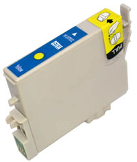Epson compatible T0614 yellow ink cartridge
