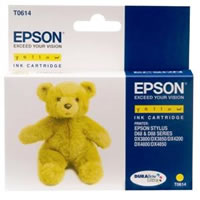 Epson T0614 yellow ink cartridge