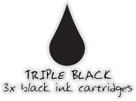 Epson compatible T036 triple black pack