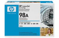 HP 98A original black toner cartridge