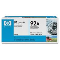 HP 92A original black toner cartridge