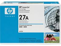 HP 27A original black toner cartridge
