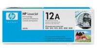 HP 12A original black toner cartridge