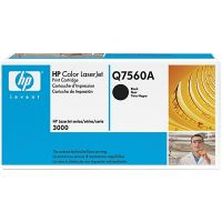 HP Q7560A original black toner cartridge