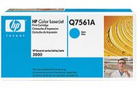 HP Q7561A original cyan toner cartridge