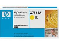 HP Q7562A original yellow toner cartridge